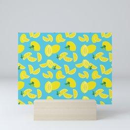 Lemoncello Teal Mini Art Print