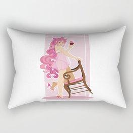 Sailor Moon Pinup - Chibiusa Cupcake Rectangular Pillow