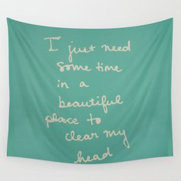 Time in a Beautiful Place Wall Tapestry