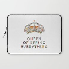 her daily motivation Laptop Sleeve