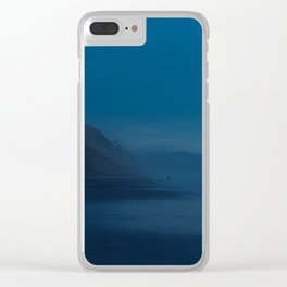 Black's Beach at Dusk Clear iPhone Case