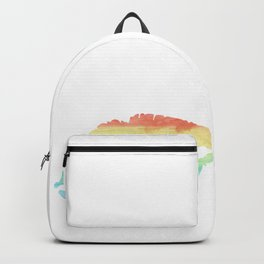 Beauty Kiss Lips Gay Lesbian CSD Gift Backpack