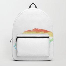 Beauty Kiss Lips Gay Lesbian CSD Gift Backpack