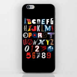 'M' is for 'Movies' iPhone Skin