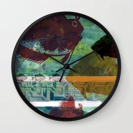 Fish Tank Traffic Wall Clock