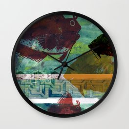 Fish Tank Traffic Wall Clock