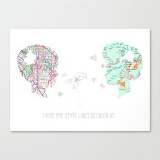 Locals Only - New York City Canvas Print