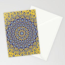 Nazar - Turkish Eye Circular Ornament #3 Stationery Cards