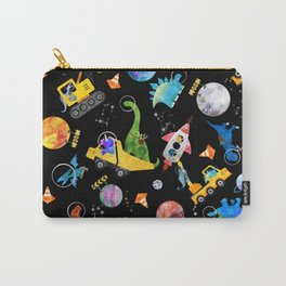 Dinosaur Astronauts Space Construction Crew Carry-All Pouch