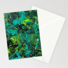my name is abyss Stationery Cards
