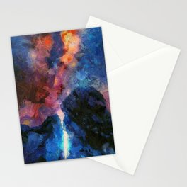 Light painting Stationery Cards