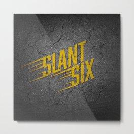 Vintage Slant Six Metal Print