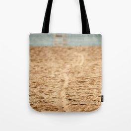 Sand Line Tote Bag