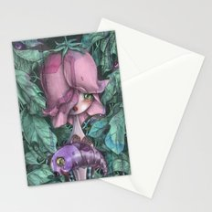 Fat Purple Butterfly  Stationery Cards