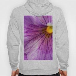 Purple Pansy Flower Close-up #decor #society6 #buyart Hoody