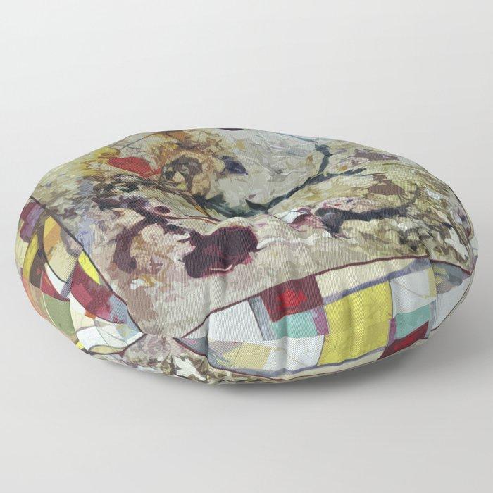 Comets Floor Pillow
