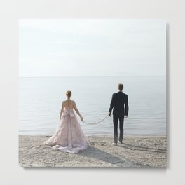 Take me with you Metal Print
