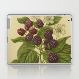 Botanical Blackberries Laptop & iPad Skin