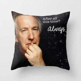 Alan Rickman Throw Pillow
