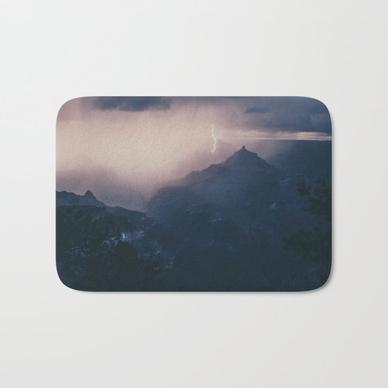 Lightning Crashing Bath Mat