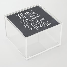 Room of Requirement Acrylic Box