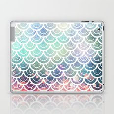 Mermaid Scales Coral and Turquoise Laptop & iPad Skin