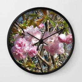 Peonies in Kawasaki Wall Clock