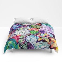cactus comforters society6 - Cactus Bedding