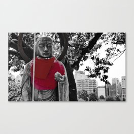 Guardian of the city Canvas Print