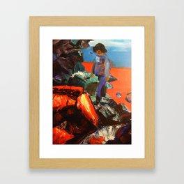 Survival's Sacrifice Framed Art Print