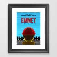 Emmet Framed Art Print