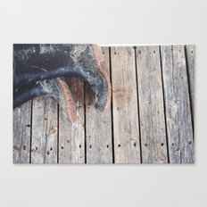 muddy Canvas Print