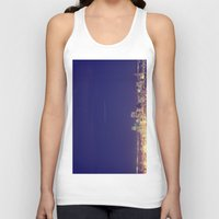 denver Tank Tops featuring Denver by Augustina Trejo