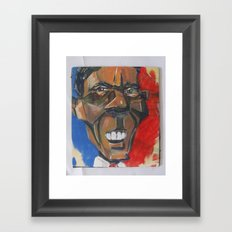 Obama Abstract Framed Art Print