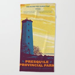 Presqu'ile Provincial Park Beach Towel