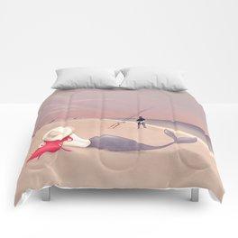 Keep Fishing Comforters