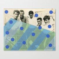 boys Canvas Prints featuring Boys by Naomi Vona