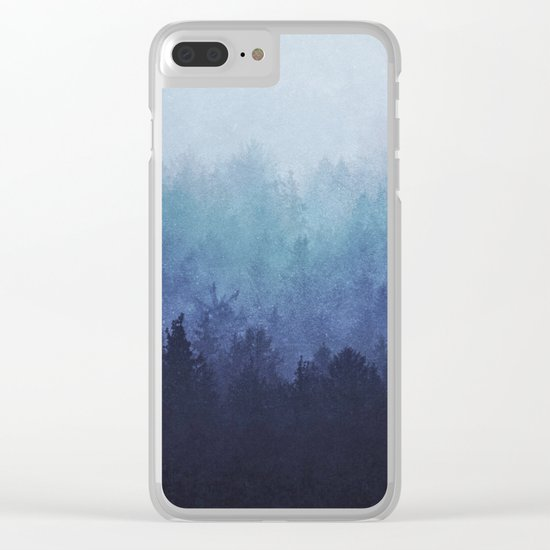 Just say the word, we'll take on the world. Clear iPhone Case