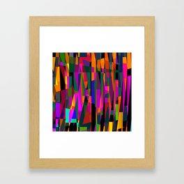 standing room only. 2 Framed Art Print