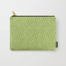 SWIRL / green tea Carry-All Pouch