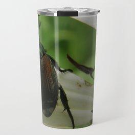 Metallic Emerald Green Travel Mug