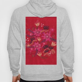 Cranberry Rose Hoody