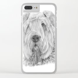 Bouvier des flandres Clear iPhone Case