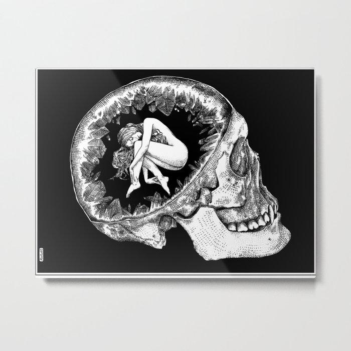 asc 101- L'âme immortelle Metal Print