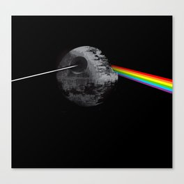 Dark side of Deathstar Canvas Print