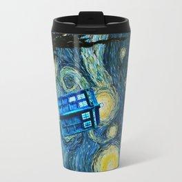 Flying Tardis doctor who starry night iPhone 4 4s 5 5c 6, pillow case, mugs and tshirt Travel Mug