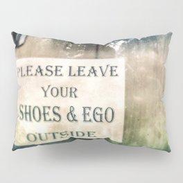 Shoes & Ego Pillow Sham