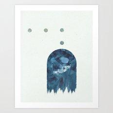 ManPac rectangular 3 Art Print