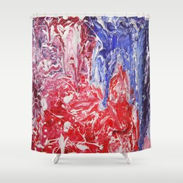 Inferno II Shower Curtain