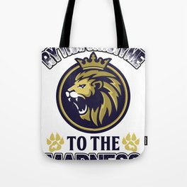 Brave and Authentic Tote Bag